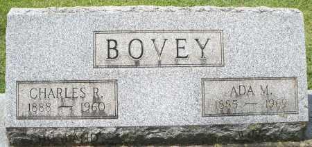 BOVEY, CHARLES R. - Montgomery County, Ohio | CHARLES R. BOVEY - Ohio Gravestone Photos