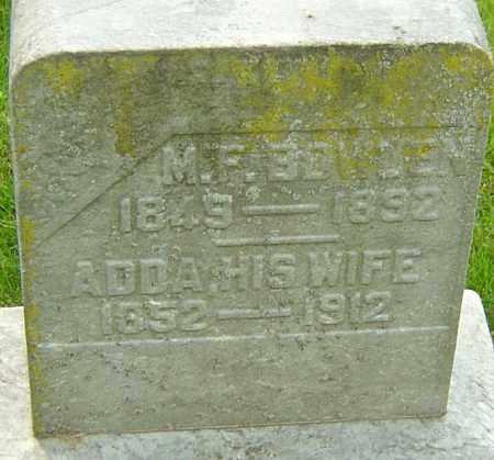 BOWDEN, M F - Montgomery County, Ohio | M F BOWDEN - Ohio Gravestone Photos