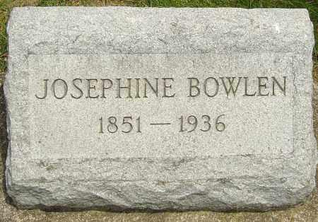BOWLEN, JOSEPHINE - Montgomery County, Ohio   JOSEPHINE BOWLEN - Ohio Gravestone Photos
