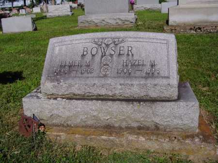 BOWSER, HAZEL M - Montgomery County, Ohio | HAZEL M BOWSER - Ohio Gravestone Photos