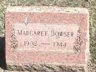 BOWSER, MARGARET - Montgomery County, Ohio | MARGARET BOWSER - Ohio Gravestone Photos