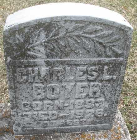 BOYER, CHARLES L. - Montgomery County, Ohio | CHARLES L. BOYER - Ohio Gravestone Photos
