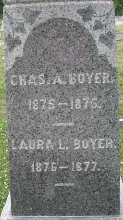 BOYER, LAURA L. - Montgomery County, Ohio | LAURA L. BOYER - Ohio Gravestone Photos