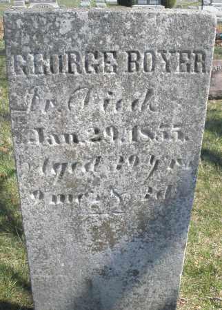 BOYER, GEORGE - Montgomery County, Ohio   GEORGE BOYER - Ohio Gravestone Photos