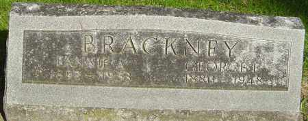 BRACKNEY, FANNIE A - Montgomery County, Ohio | FANNIE A BRACKNEY - Ohio Gravestone Photos