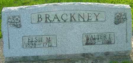 BRACKNEY, WALTER E - Montgomery County, Ohio | WALTER E BRACKNEY - Ohio Gravestone Photos