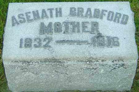 BRADFORD, ASENATH - Montgomery County, Ohio | ASENATH BRADFORD - Ohio Gravestone Photos