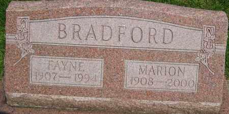 BRADFORD, MARION FRANCIS - Montgomery County, Ohio | MARION FRANCIS BRADFORD - Ohio Gravestone Photos