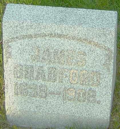 BRADFORD, JAMES - Montgomery County, Ohio | JAMES BRADFORD - Ohio Gravestone Photos