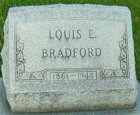 BRADFORD, LOUIS E - Montgomery County, Ohio | LOUIS E BRADFORD - Ohio Gravestone Photos
