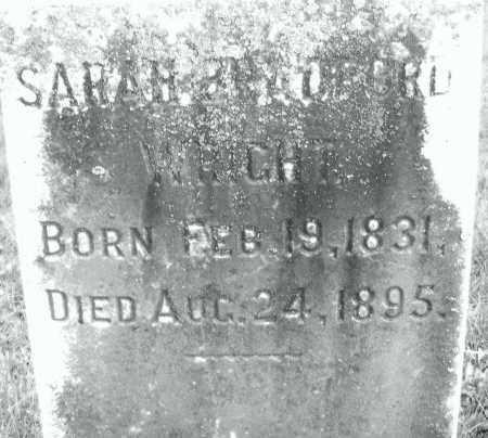 BRADFORD, SARAH - Montgomery County, Ohio   SARAH BRADFORD - Ohio Gravestone Photos