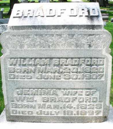 BRADFORD, JEMIMA - Montgomery County, Ohio | JEMIMA BRADFORD - Ohio Gravestone Photos