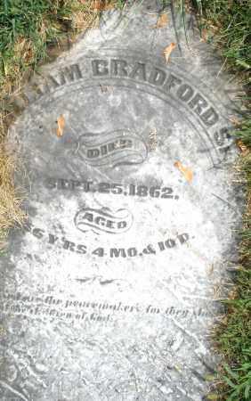 BRADFORD, WILLIAM SR. - Montgomery County, Ohio | WILLIAM SR. BRADFORD - Ohio Gravestone Photos
