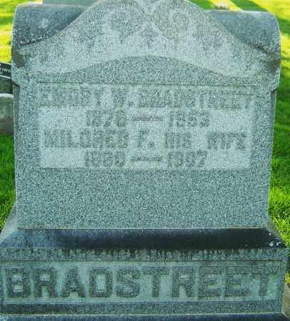 BRADSTREET, EMORY WATKINS - Montgomery County, Ohio | EMORY WATKINS BRADSTREET - Ohio Gravestone Photos