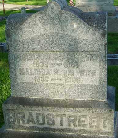 BRADSTREET, FRANCIS MARION - Montgomery County, Ohio | FRANCIS MARION BRADSTREET - Ohio Gravestone Photos