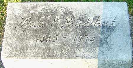 BRADSTREET, MERLE EVA - Montgomery County, Ohio | MERLE EVA BRADSTREET - Ohio Gravestone Photos