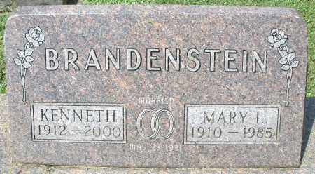 BRANDENSTEIN, MARY L. - Montgomery County, Ohio | MARY L. BRANDENSTEIN - Ohio Gravestone Photos