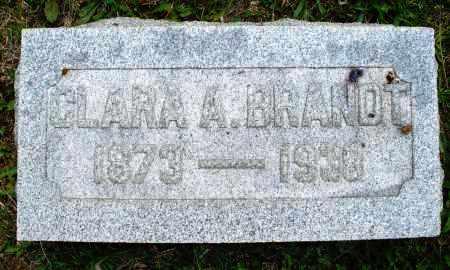BRANDT, CLARA A. - Montgomery County, Ohio | CLARA A. BRANDT - Ohio Gravestone Photos