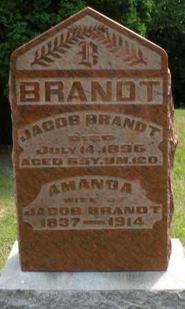BRANDT, AMANDA - Montgomery County, Ohio | AMANDA BRANDT - Ohio Gravestone Photos
