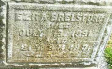 BRELSFORD, EZRA - Montgomery County, Ohio | EZRA BRELSFORD - Ohio Gravestone Photos