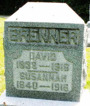 BRENNER, SUSANNAH - Montgomery County, Ohio   SUSANNAH BRENNER - Ohio Gravestone Photos