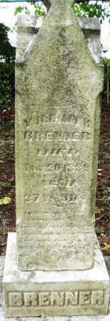 BRENNER, WILLIAM H. - Montgomery County, Ohio | WILLIAM H. BRENNER - Ohio Gravestone Photos