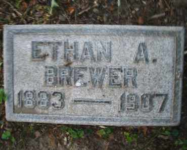 BREWER, ETHAN A. - Montgomery County, Ohio | ETHAN A. BREWER - Ohio Gravestone Photos