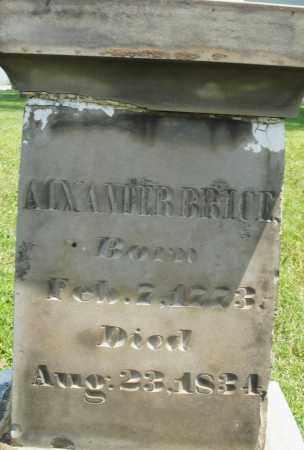 BRICE, ALEXANDER - Montgomery County, Ohio   ALEXANDER BRICE - Ohio Gravestone Photos