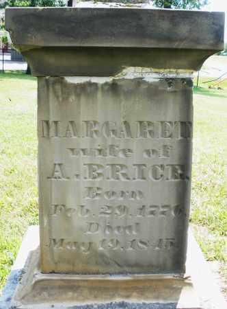 BRICE, MARGARET - Montgomery County, Ohio | MARGARET BRICE - Ohio Gravestone Photos