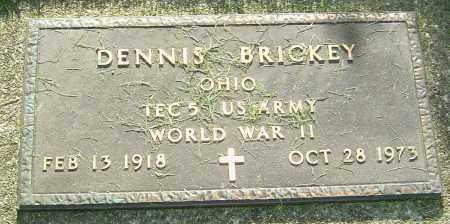 BRICKEY, DENNIS - Montgomery County, Ohio | DENNIS BRICKEY - Ohio Gravestone Photos