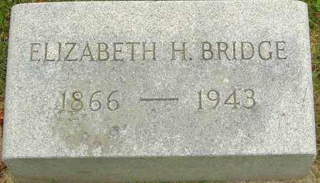 HARTLEY BRIDGE, ELIZABETH - Montgomery County, Ohio | ELIZABETH HARTLEY BRIDGE - Ohio Gravestone Photos