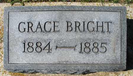 BRIGHT, GRACE - Montgomery County, Ohio | GRACE BRIGHT - Ohio Gravestone Photos