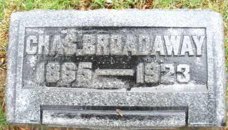BROADAWAY, CHARLES - Montgomery County, Ohio | CHARLES BROADAWAY - Ohio Gravestone Photos