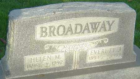 BROADAWAY, HELEN M - Montgomery County, Ohio | HELEN M BROADAWAY - Ohio Gravestone Photos