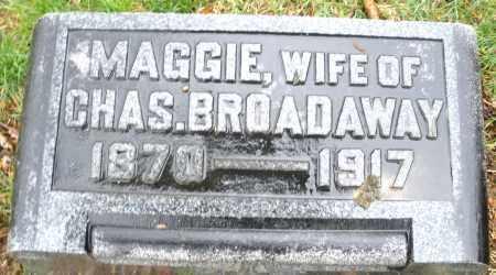 BROADAWAY, MAGGIE - Montgomery County, Ohio | MAGGIE BROADAWAY - Ohio Gravestone Photos