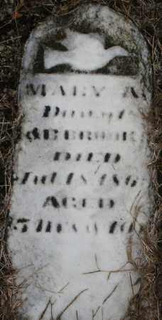 BROOK, MARY A. - Montgomery County, Ohio | MARY A. BROOK - Ohio Gravestone Photos