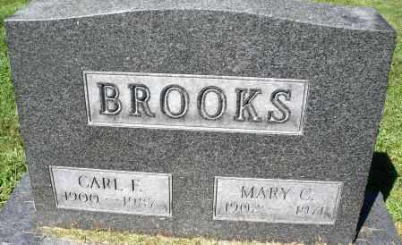 BROOKS, MARY C. - Montgomery County, Ohio | MARY C. BROOKS - Ohio Gravestone Photos