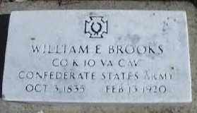 BROOKS, WILLIAM E. - Montgomery County, Ohio   WILLIAM E. BROOKS - Ohio Gravestone Photos