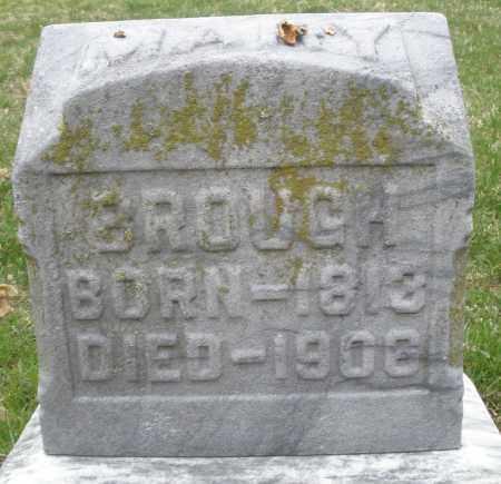 BROUGH, MARY - Montgomery County, Ohio | MARY BROUGH - Ohio Gravestone Photos