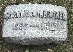 BROWER, CAROLINA M. - Montgomery County, Ohio | CAROLINA M. BROWER - Ohio Gravestone Photos