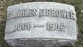 BROWER, CHARLES F. - Montgomery County, Ohio | CHARLES F. BROWER - Ohio Gravestone Photos