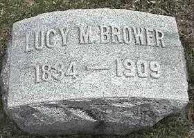 BROWER, LUCY M. - Montgomery County, Ohio | LUCY M. BROWER - Ohio Gravestone Photos