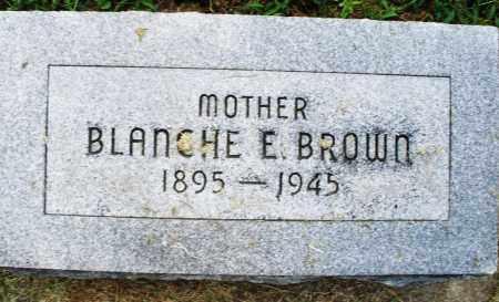 BROWN, BLANCHE E. - Montgomery County, Ohio | BLANCHE E. BROWN - Ohio Gravestone Photos