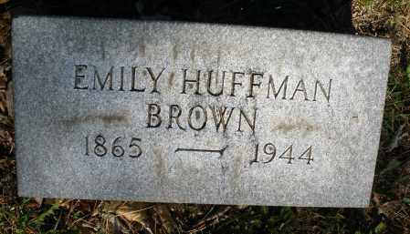 BROWN, EMILY - Montgomery County, Ohio | EMILY BROWN - Ohio Gravestone Photos