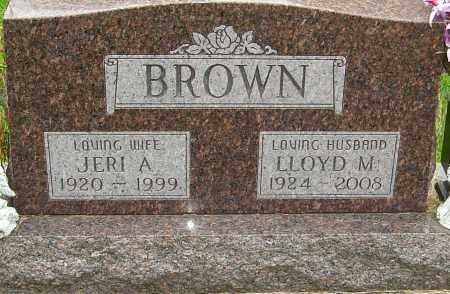 BROWN, LLOYD - Montgomery County, Ohio | LLOYD BROWN - Ohio Gravestone Photos