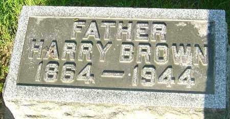 BROWN, HARRY - Montgomery County, Ohio | HARRY BROWN - Ohio Gravestone Photos