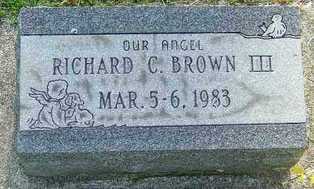 BROWN III, RICHARD C - Montgomery County, Ohio | RICHARD C BROWN III - Ohio Gravestone Photos