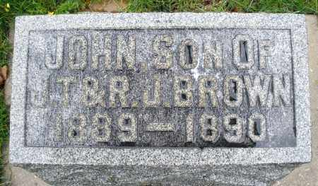 BROWN, JOHN - Montgomery County, Ohio | JOHN BROWN - Ohio Gravestone Photos