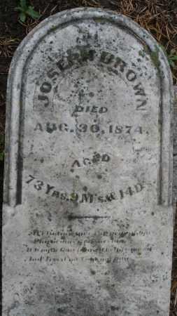 BROWN, JOSEPH - Montgomery County, Ohio | JOSEPH BROWN - Ohio Gravestone Photos