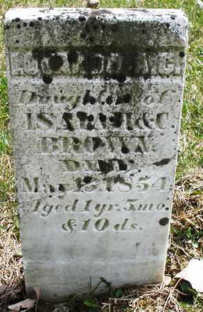 BROWN, L. - Montgomery County, Ohio | L. BROWN - Ohio Gravestone Photos